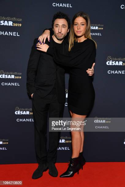 Sofian Khammes and Adele Exarchopoulos attend the 'Cesar Revelations 2019' at Le Petit Palais on January 14 2019 in Paris France