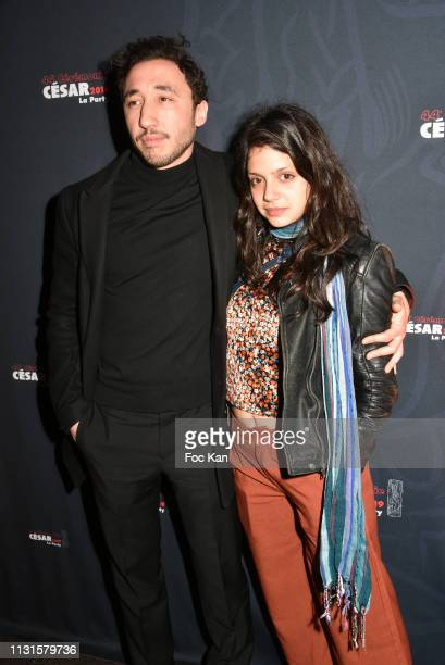 Sofian Khammes and Noee Abita attend the 44th Cesar Awards Ceremony After Party at L'Arc on February 22 2019 in Paris France