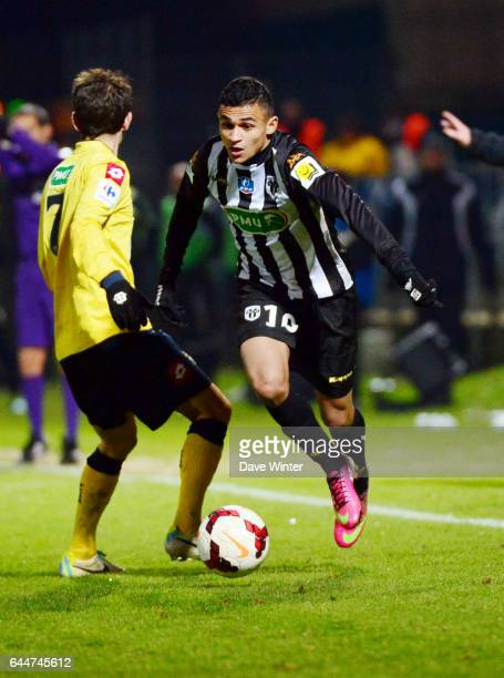 Sofiane BOUFAL Angers / Sochaux Coupe de France 2013/2014 Photo Dave Winter / Icon Sport