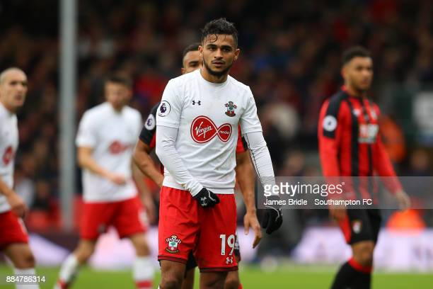 Sofiane Boufal during the Premier League match between AFC Bournemouth and Southampton at Vitality Stadium on December 3 2017 in Bournemouth England