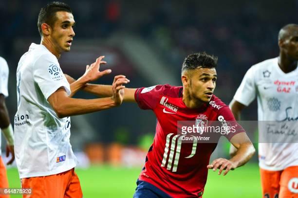 Sofiane BOUFAL / Ellyes SKHIRI Lille / Montpellier 9e journee de Ligue 1 Photo Dave Winter / Icon Sport