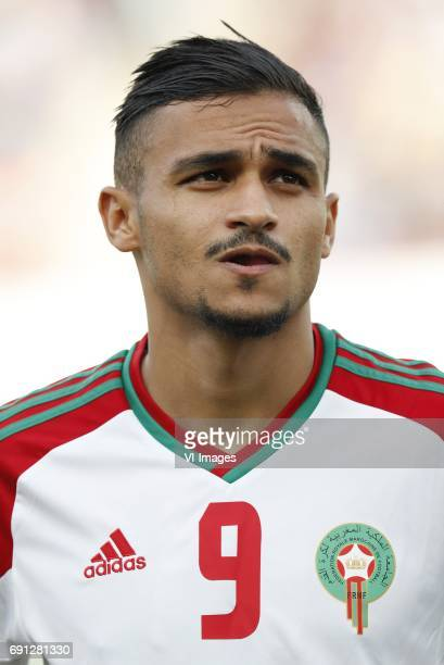 Sofiane Boufal of Moroccoduring the friendly match between Morocco and The Netherlands at Grand Stade Adrar on May 31 2017 in Agadir Morocco