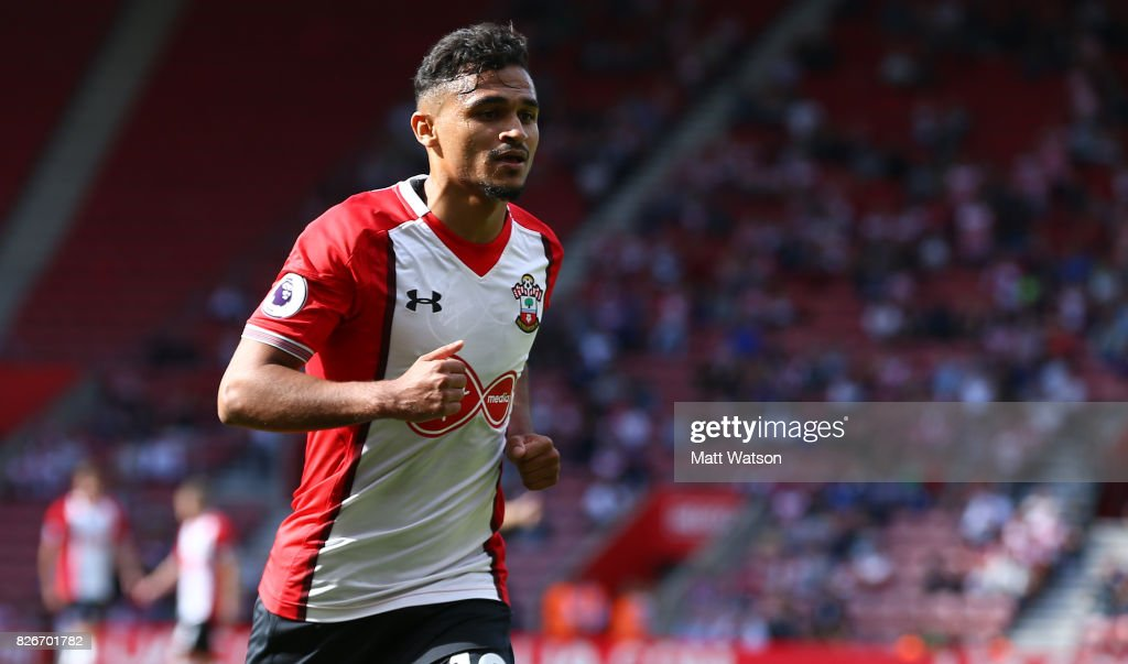 Sofiane Boufal of Southampton during the pre-season friendly between Southampton FC and Sevilla at St. Mary's Stadium on August 5, 2017 in Southampton, England.