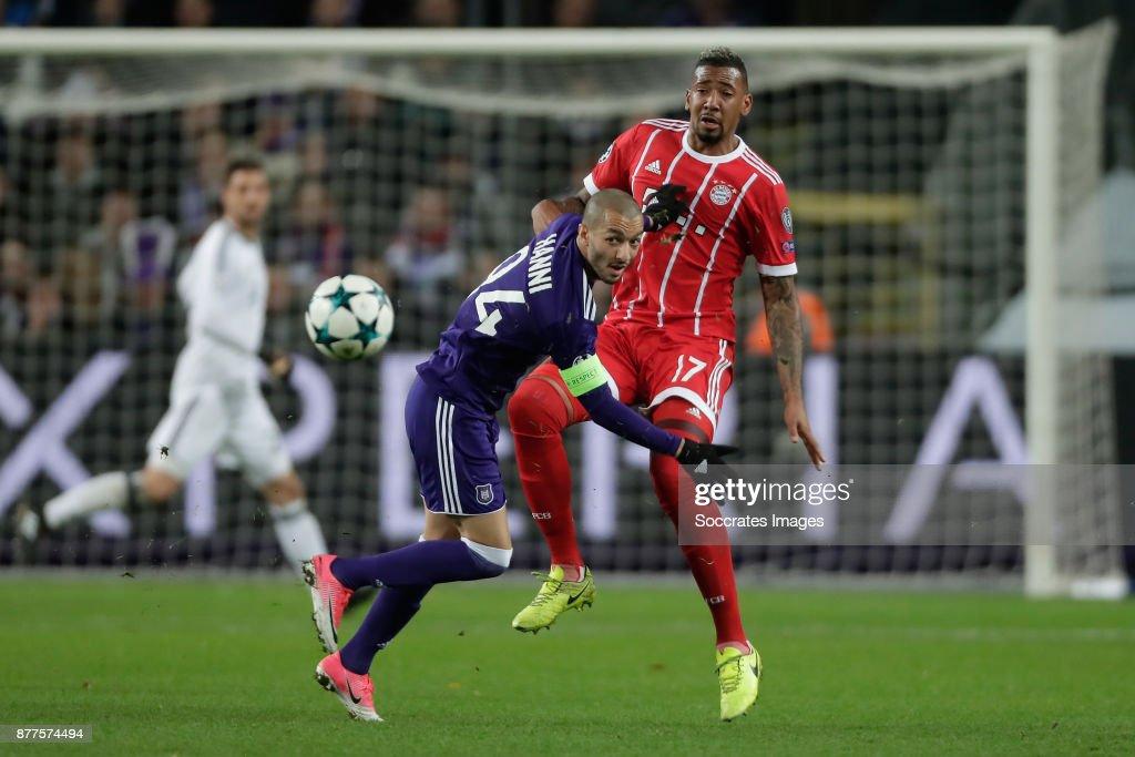 Anderlecht v Bayern Munchen - UEFA Champions League : News Photo