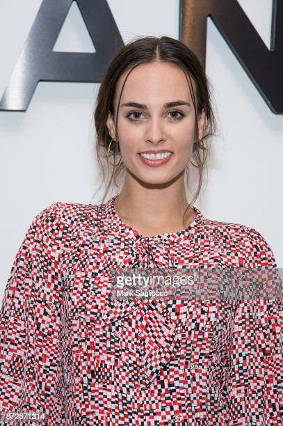 Sofie Auster wearing CHANEL attends the CHANEL celebration of the launch of The Coco Club at The Wing Soho on November 10 2017 in New York City