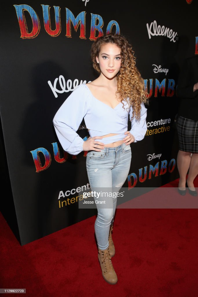 fbe1ea07eeab68 Sofie Dossi attends the World Premiere of Disney s  Dumbo  at the El ...