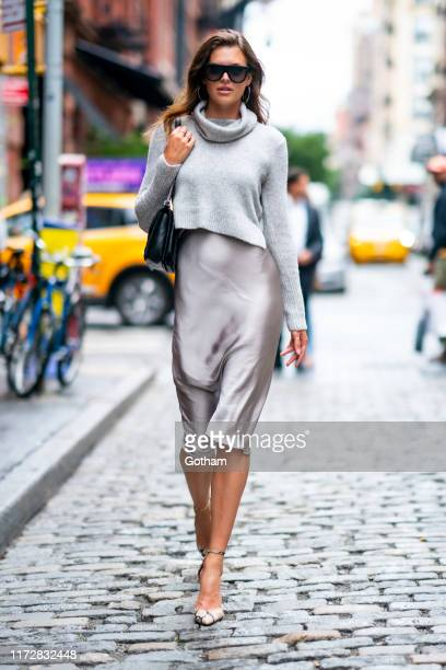 Sofie Rovenstine is seen in SoHo on September 06, 2019 in New York City.