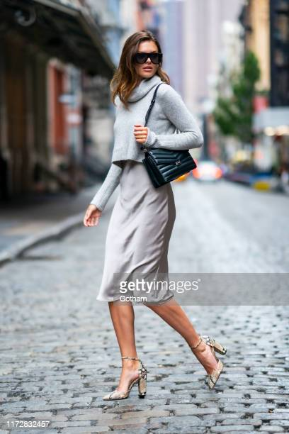 Sofie Rovenstine is seen in SoHo on September 06 2019 in New York City