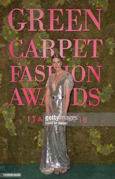 Sofie Valkiers attends The Green Carpet Fashion Awards Italia 2018 at Teatro Alla Scala on September 23 2018 in Milan Italy