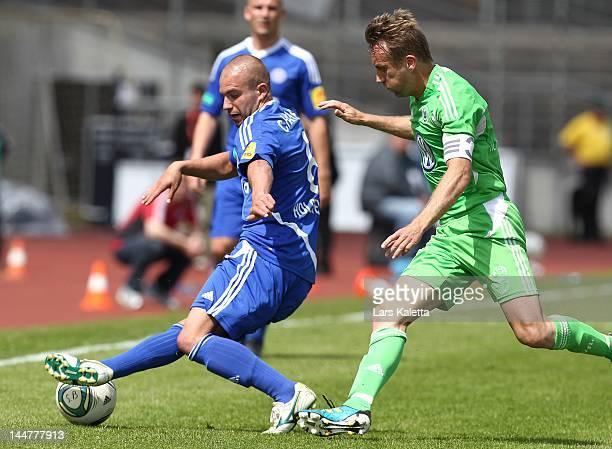 23 Vfl Wolfsburg Ii V Holstein Kiel Regionalliga Nord Photos And Premium High Res Pictures Getty Images