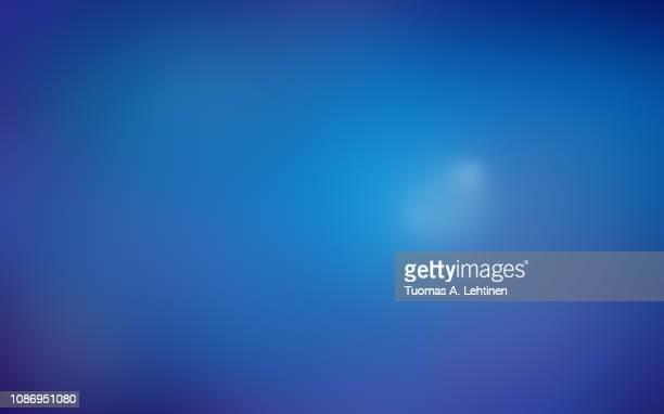soft and blurred blue abstract gradient background. - fondo azul fotografías e imágenes de stock