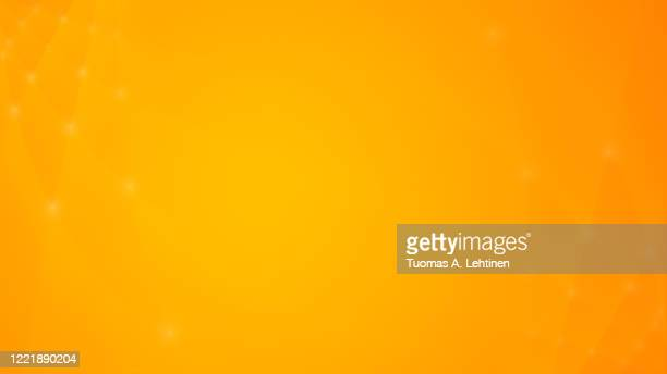 soft and blurry lines with glowing dots on orange and yellow background. - orange background stock pictures, royalty-free photos & images