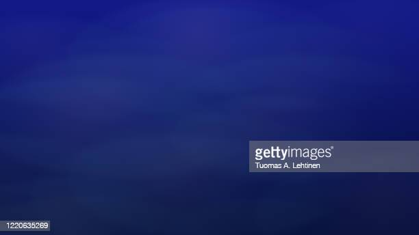 soft, blurred and dreamy blue gradient background. abstract background in 4k resolution. - dark blue stock pictures, royalty-free photos & images