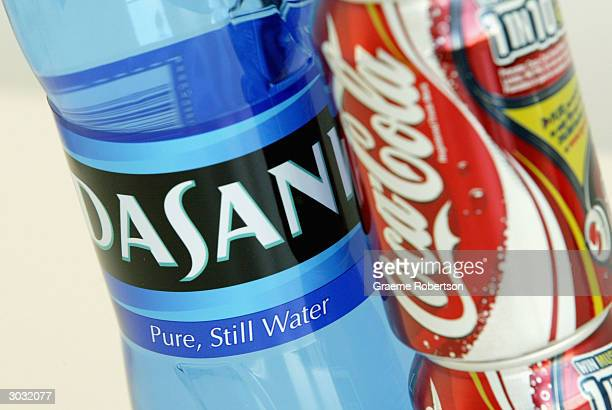 Soft drink giant CocaColas new bottled water 'Dasani' is seen on March 2 2004 in London CocaCola has come under the spotlight with their new drink...