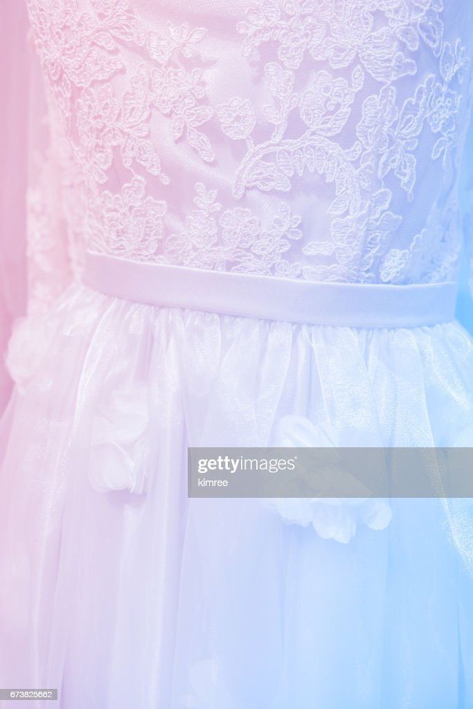 Soft Focus Wedding Dress Pastel Color Stock Photo Getty Images