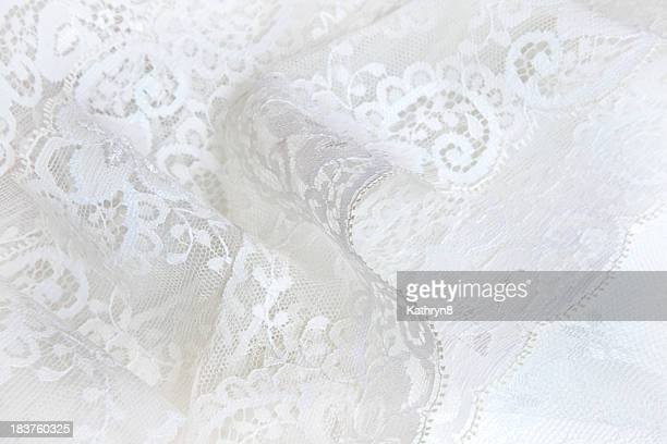 soft lace - frilly stock photos and pictures