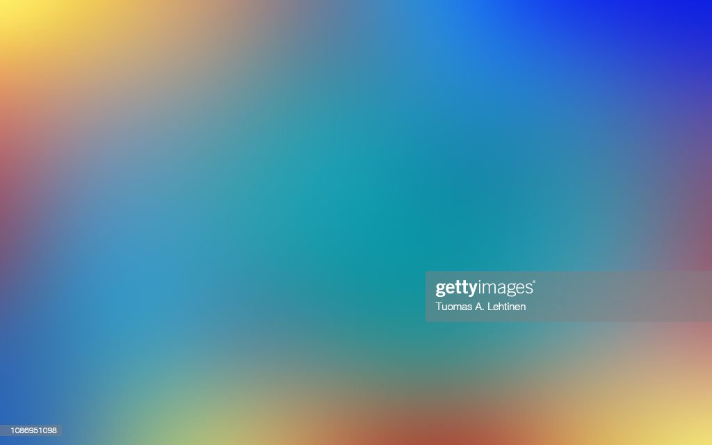 Soft, vibrant and blurred colorful abstract gradient background. : Stock Photo
