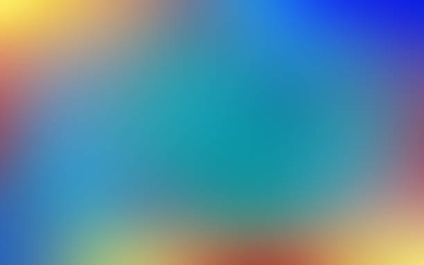 soft, vibrant and blurred colorful abstract gradient background. - 彩色影像 個照片及圖片檔