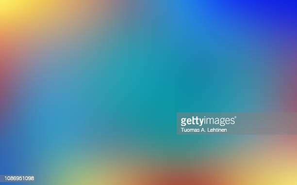 soft, vibrant and blurred colorful abstract gradient background. - imagem a cores imagens e fotografias de stock