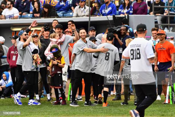 California Strong Celebrity Game Milwaukee Brewers Ryan Braun victorious during game at Pepperdine University The charity game raised funds for those...