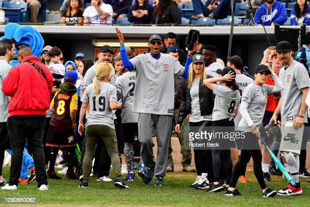 California Strong Celebrity Game NBA Hall of famer Reggie Miller victorious after game at Pepperdine University The charity game raised funds for...