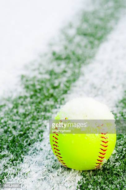 Softball in the snow