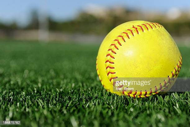 softball - softball stock pictures, royalty-free photos & images