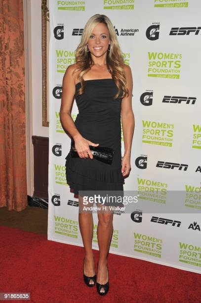 Softball player Jennie Finch attends the 30th Annual Salute To Women In Sports Awards at The Waldorf=Astoria on October 13 2009 in New York City