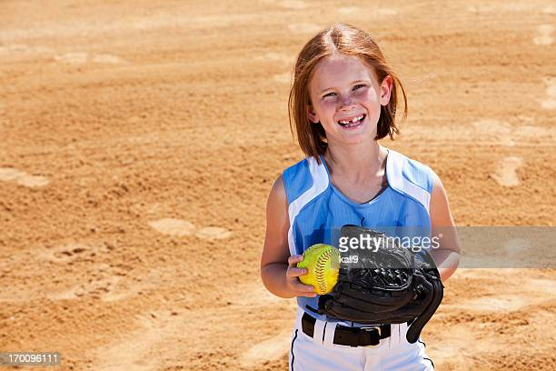 softball player - softball stock pictures, royalty-free photos & images