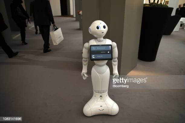 2 042 Pepper Robot Photos And Premium High Res Pictures Getty Images