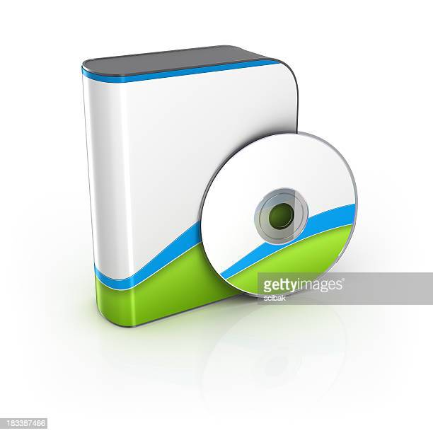 Software box with CD or DVD