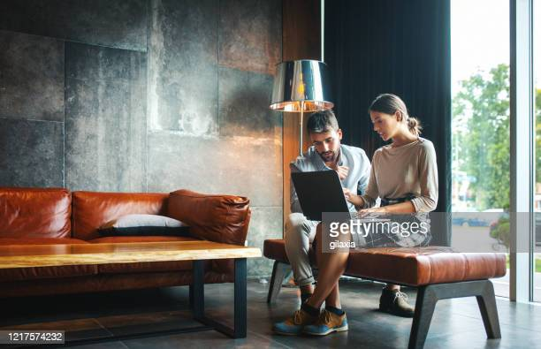 software developers working from home. - luxury stock pictures, royalty-free photos & images