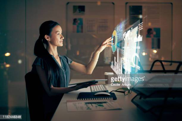 software development after sundown - digitally generated image stock pictures, royalty-free photos & images