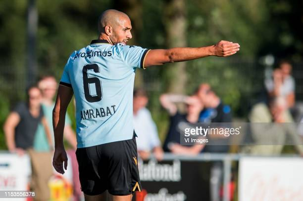 Sofyan Amrabat of Club Brugge during the Preseason Friendly match between Heracles Almelo v Club Brugge at De Veluwse Boys on July 03 2019 in...