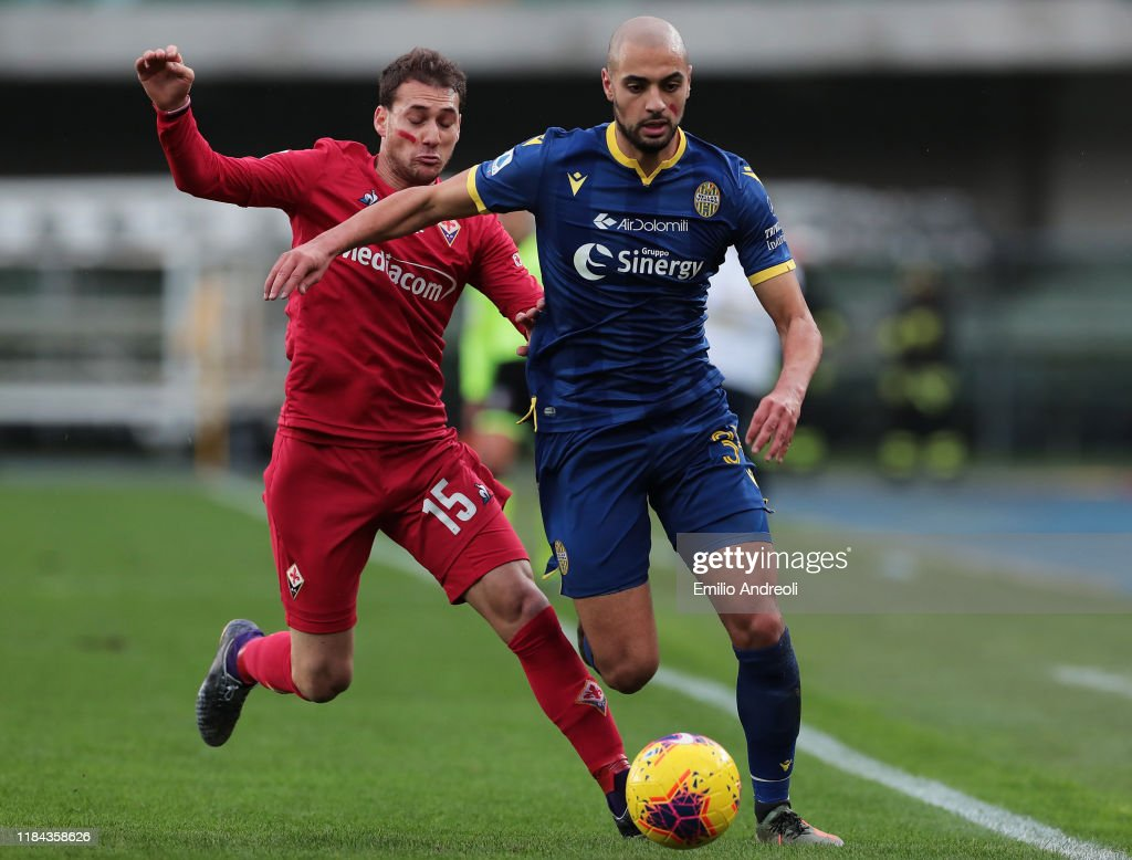 Hellas Verona v ACF Fiorentina - Serie A : News Photo