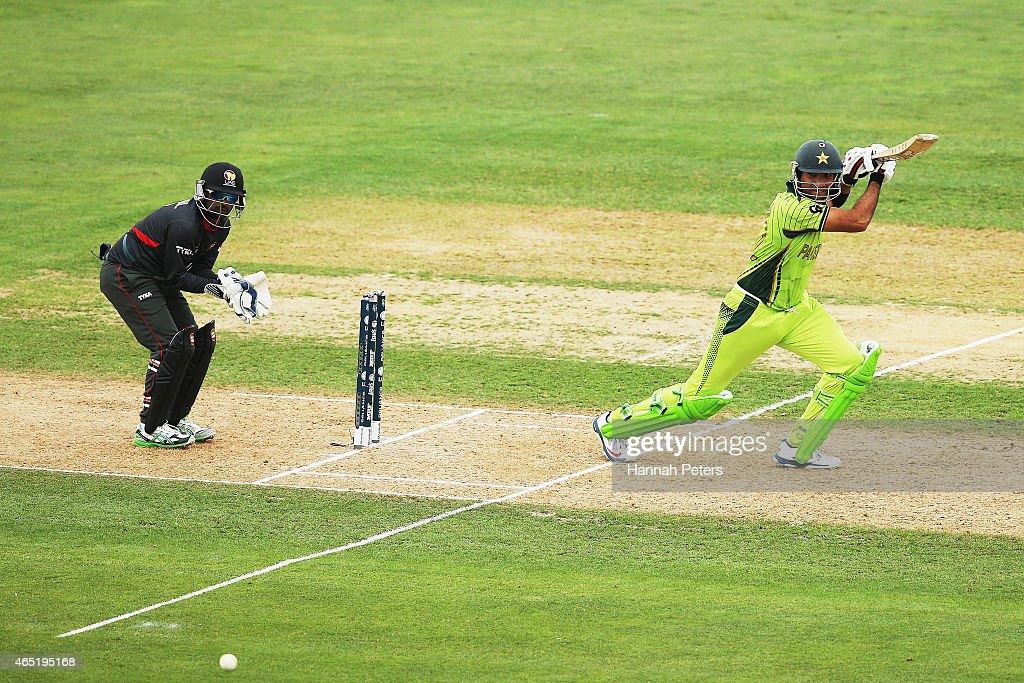 Pakistan v United Arab Emirates - 2015 ICC Cricket World Cup