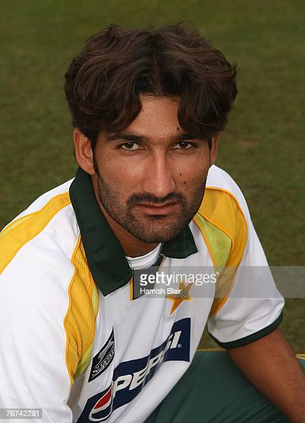 Sohail Tanvir of Pakistan poses for a portrait ahead of the ICC Twenty20 Cricket World Championship match between India and Pakistan at Kingsmead on...