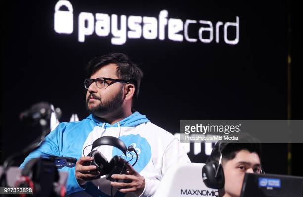 Soham VALENS Chowdhury during CounterStrike Global Offensive quarterfinal game between Cloud9 and FaZe Clan on March 2 2018 in Katowice Poland