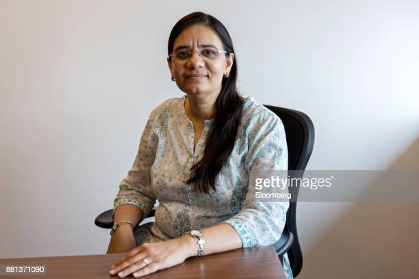 Sohini Andani fund manager at SBI Funds Management Pvt poses for a portrait in Mumbai India on Monday Nov 27 2017 For Andanithe freedom to make...