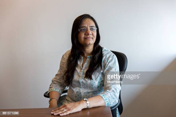 Sohini Andani fund manager at SBI Funds Management Pvt poses for a portrait in Mumbai India on Monday Nov 27 2017 For Andani the freedom to make...