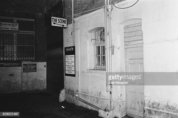 Soho jazz club 'The Scene' London 4th December 1964