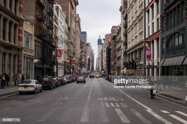 soho new york - soho new york stock pictures, royalty-free photos & images