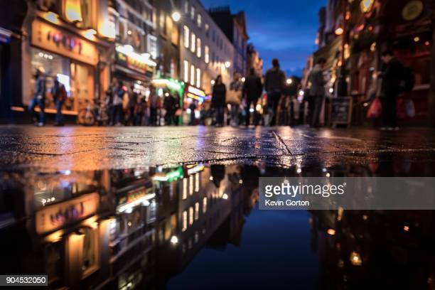 soho night - west end london stock pictures, royalty-free photos & images