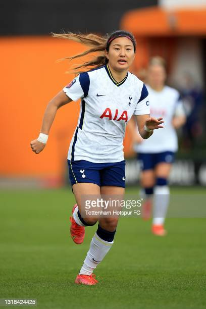 So-Hyun Cho of Tottenham Hotspur during the Vitality Women's FA Cup 5th Round match between Tottenham Hotspur Women and Sheffield United Women at The...