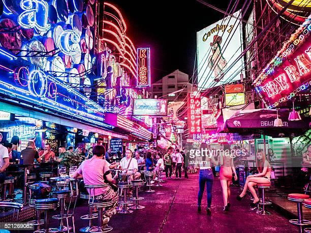 Soi Cowboy red light district Bangkok Thailand