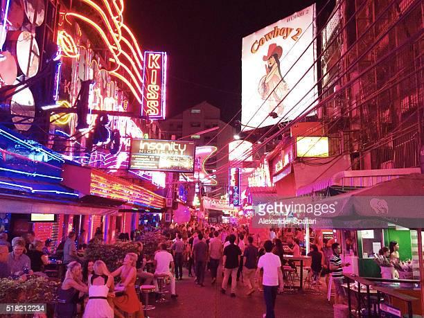 Soi Cowboy red light district in Bangkok, Thailand