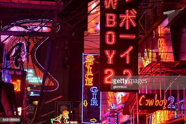 Soi Cowboy red lights, Bangkok