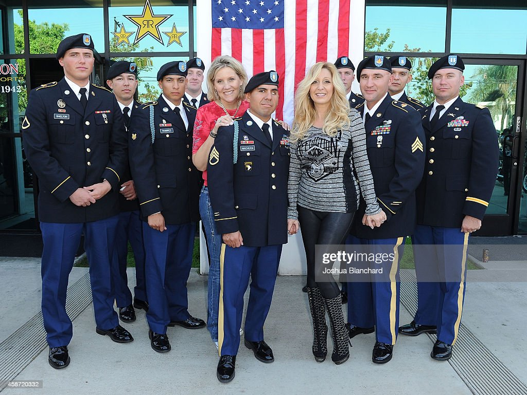 Sons Of Anarchy Star Rusty Coones Hosts Shoe Drive To Benefit American Soldier Network : News Photo