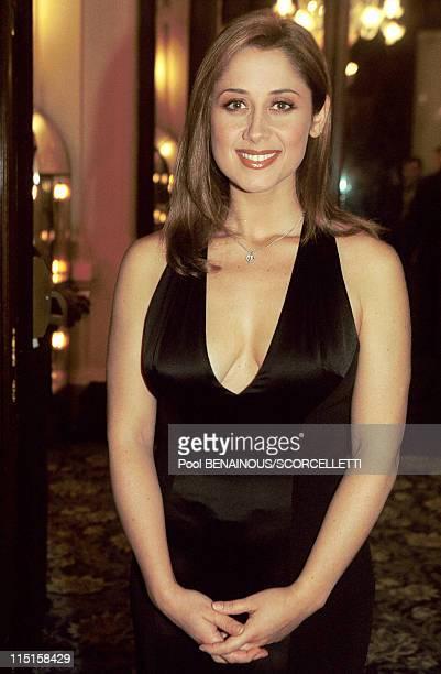 Soiree 'Music awards' in Monaco City Monaco on May 04 1999 Lara Fabian