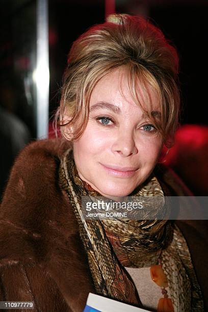 Soiree of presentation the book of Corinne Lechevallier Guide des metiers artistiques at Star Club in Paris France on April 15th 2008 Grace de...